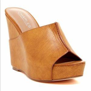 Charles David Tan, Slip-In Platform heels
